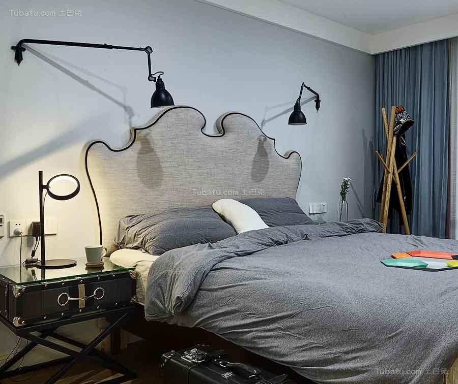 简约风艺术感主卧室图片