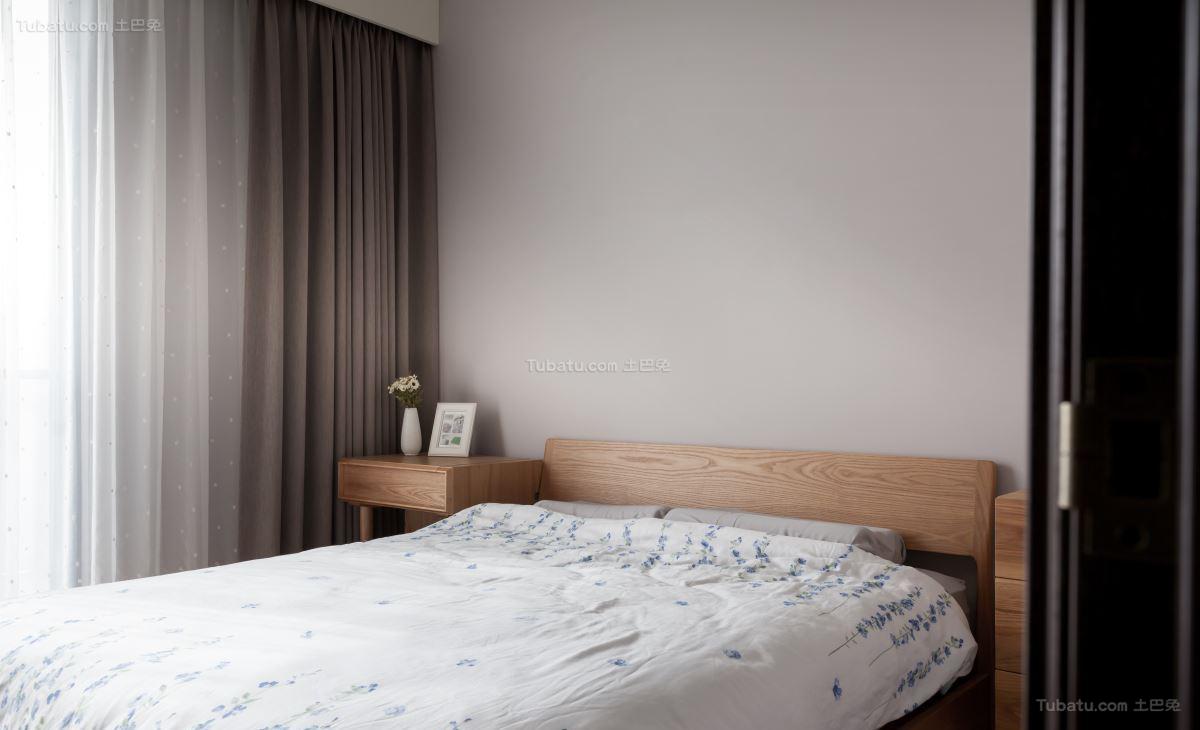 清新温馨简约风格卧室装修效果图