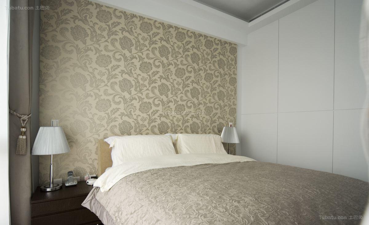 时尚清新简约风卧室装修效果图
