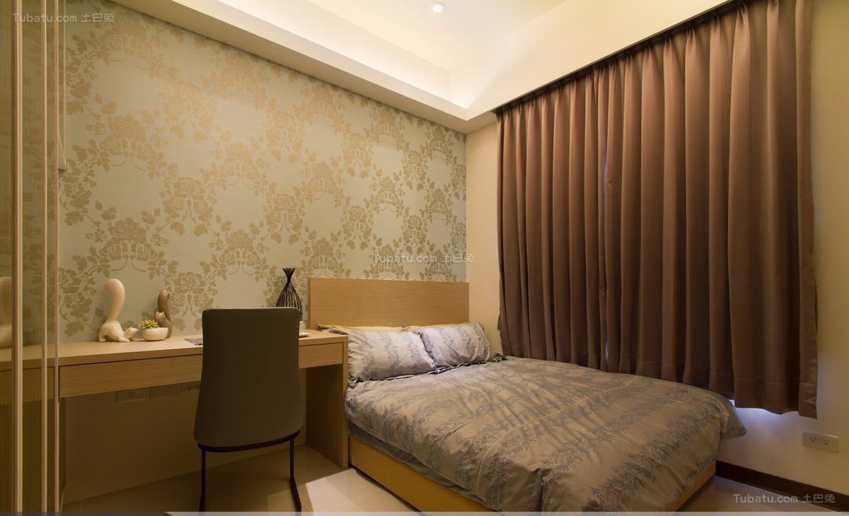 文艺风格日式温馨卧室装修效果图