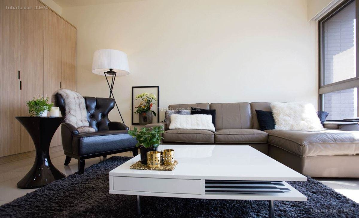 新鲜感十足的现代风格客厅装修效果图
