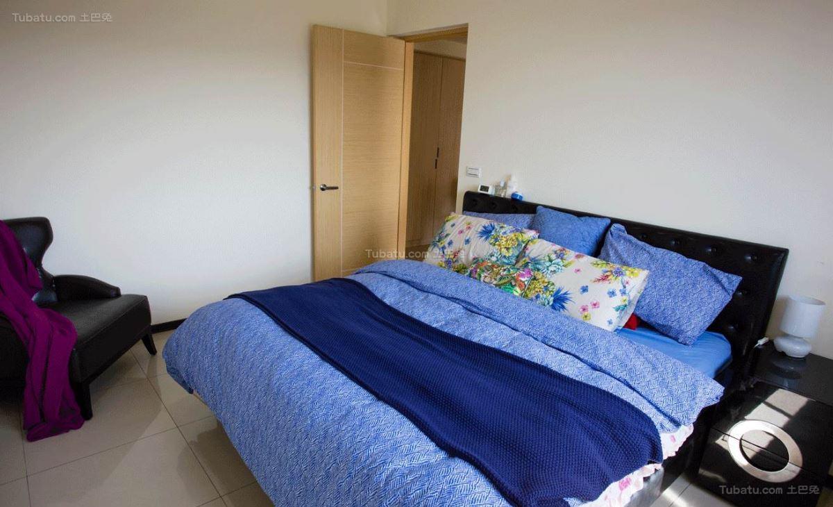 新鲜感十足的现代风格卧室装修效果图