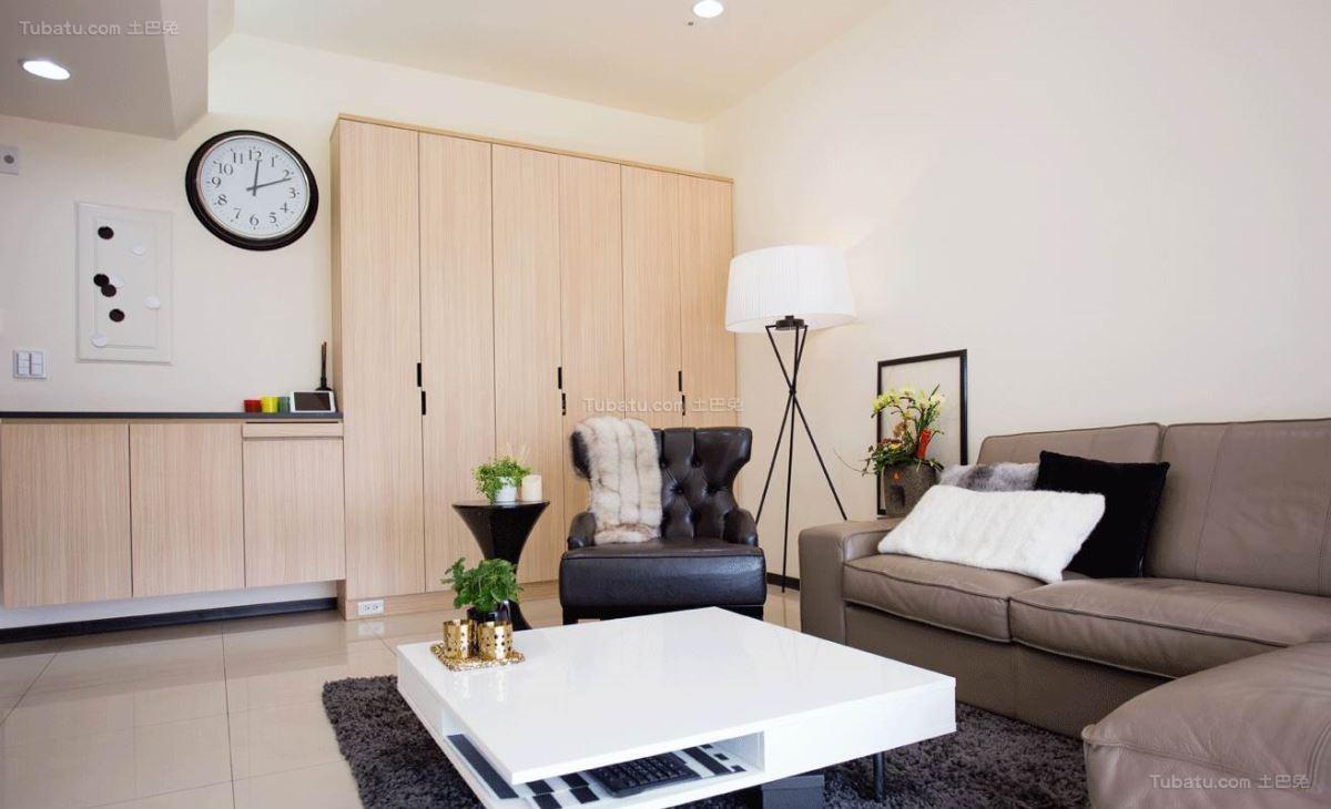 新鲜感十足的现代风格三居室装修效果图