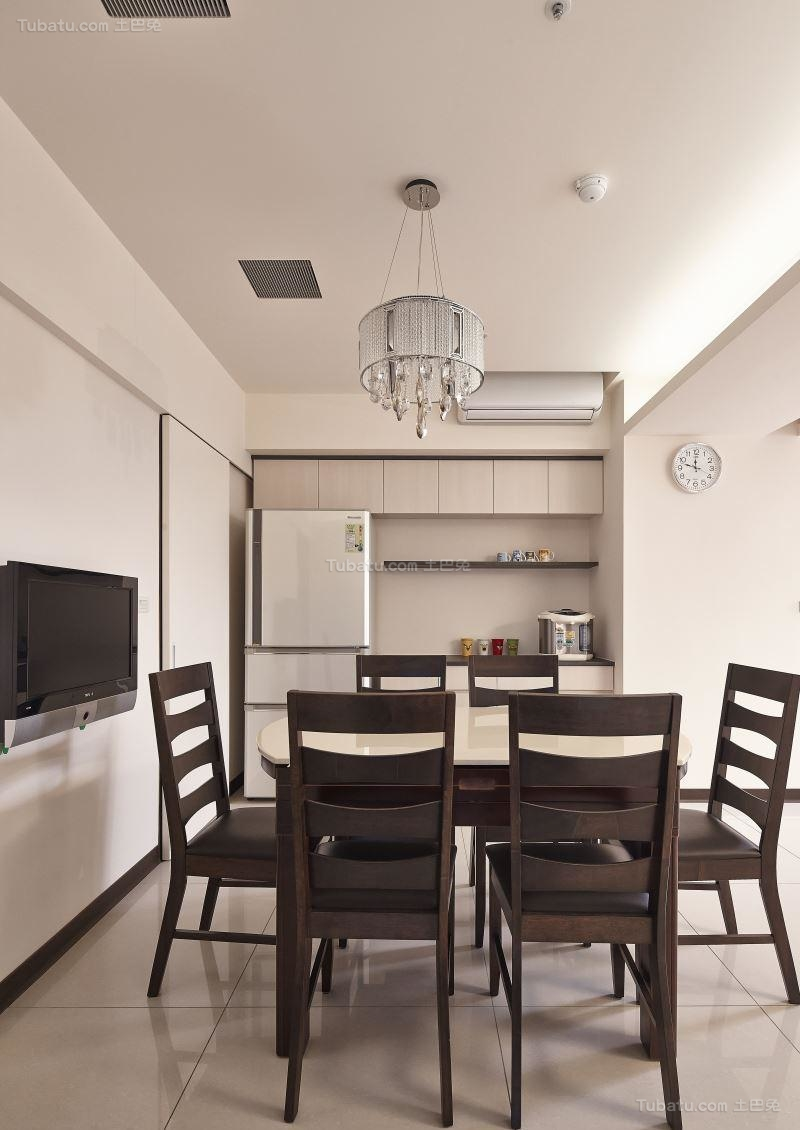 典雅质朴的中式风格餐厅装修效果图