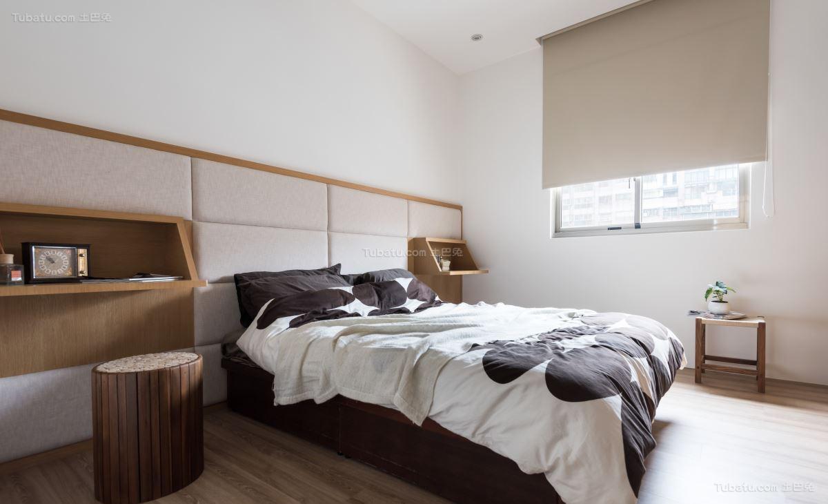 现代质感卧室装修效果图