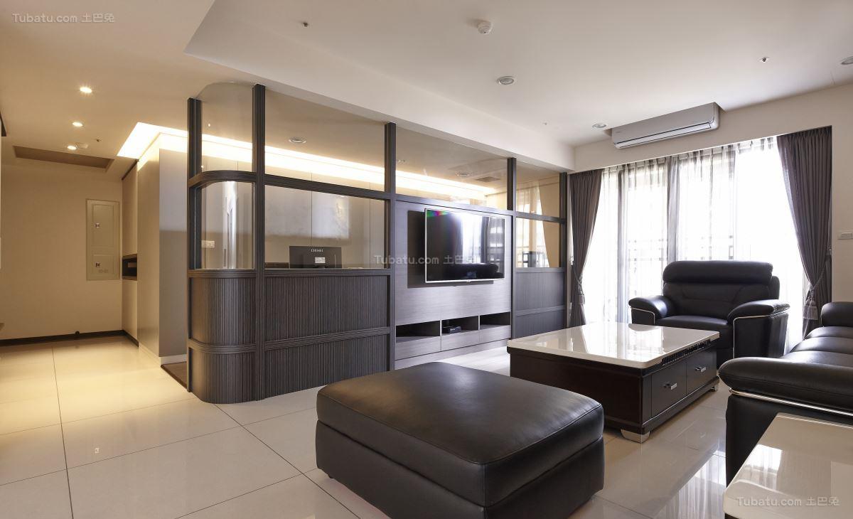 典雅质朴的中式风格客厅装修效果图
