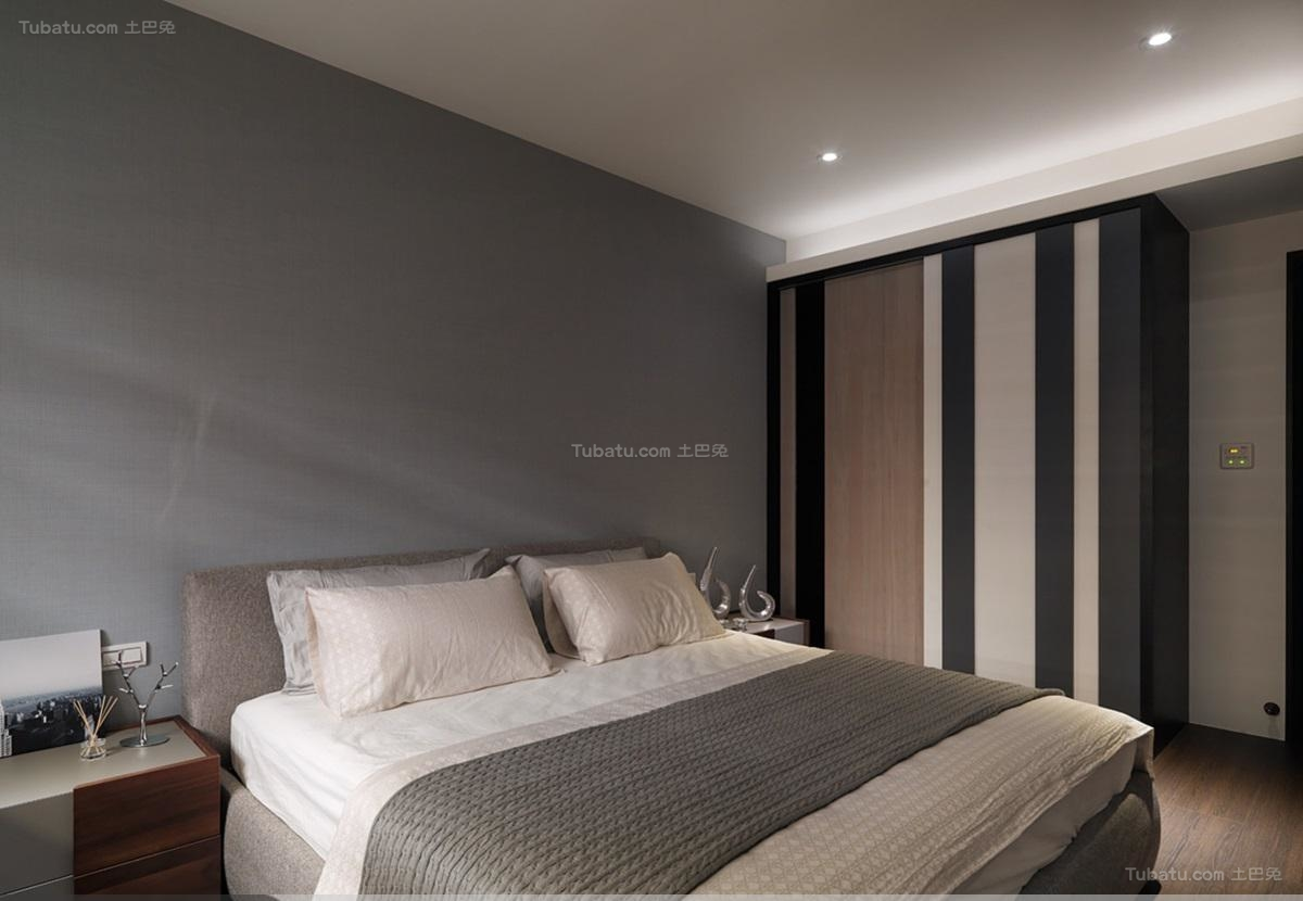 休闲舒适简约风格卧室装修效果图