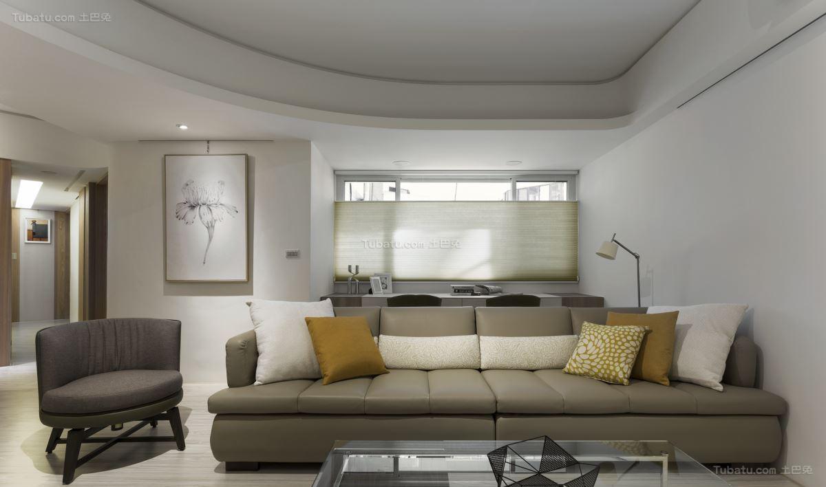 超舒适清新北欧风三居室装修效果图