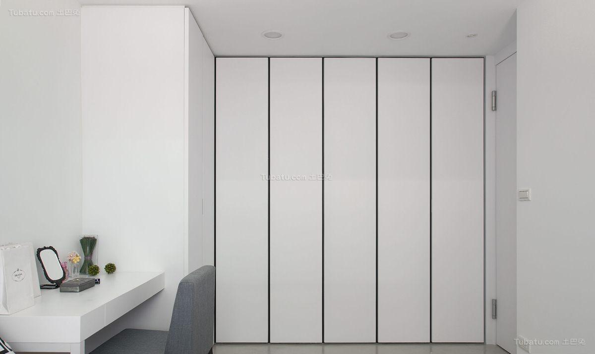 时尚现代清新风衣柜装修效果图