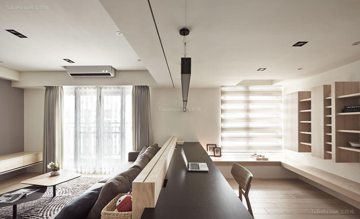 北欧风雅致两居室效果图