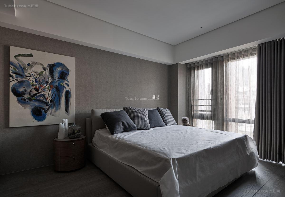 休闲惬意舒适卧室装修效果图