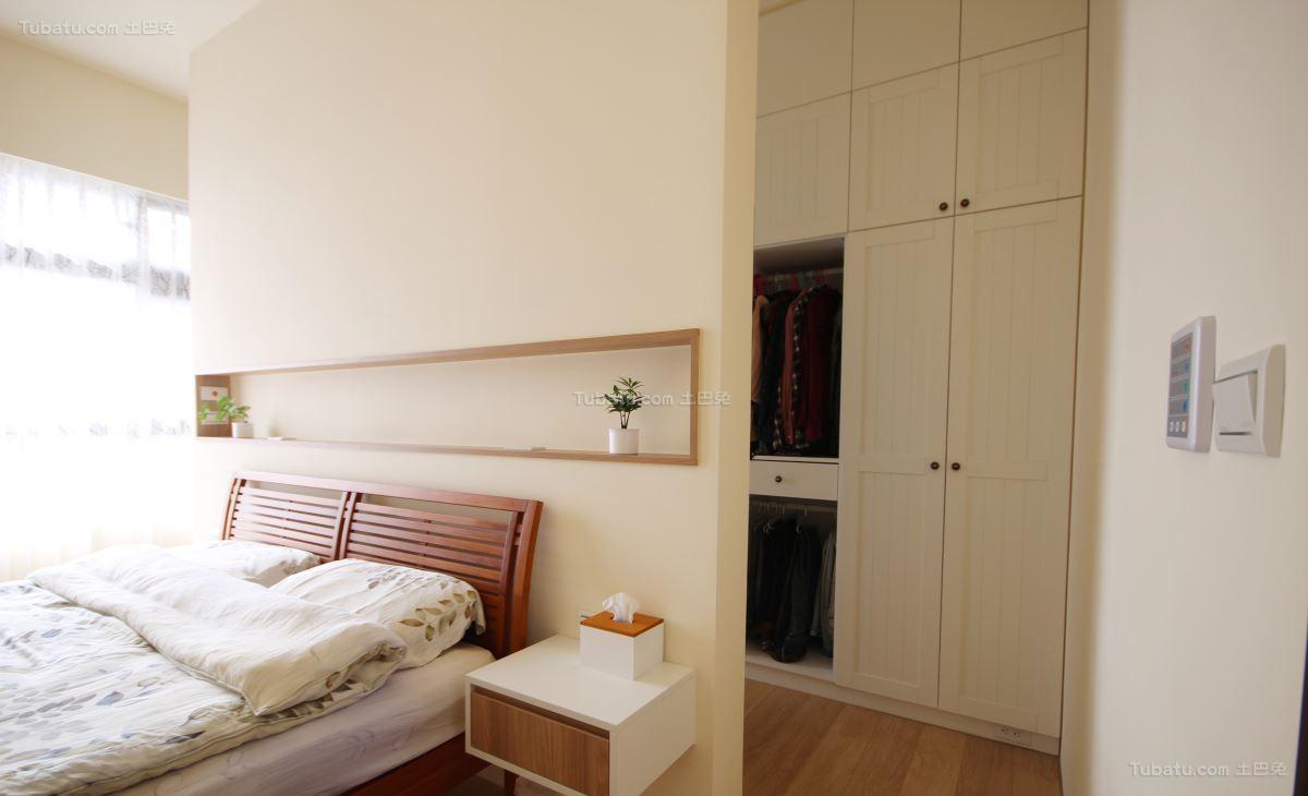 北欧风温馨感小卧室效果图