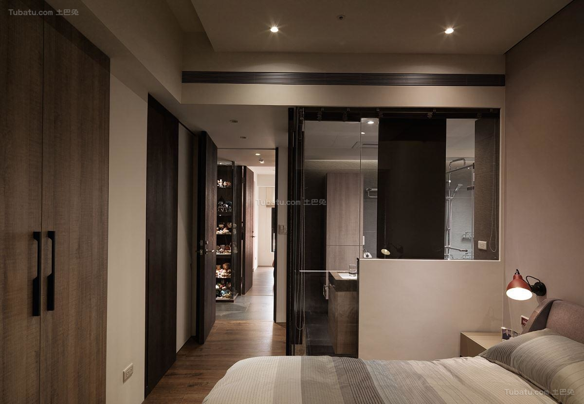 loft风格简美感小卧室图