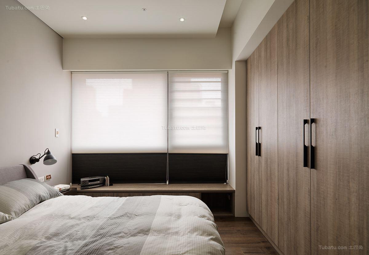 loft风格简美感主卧室图