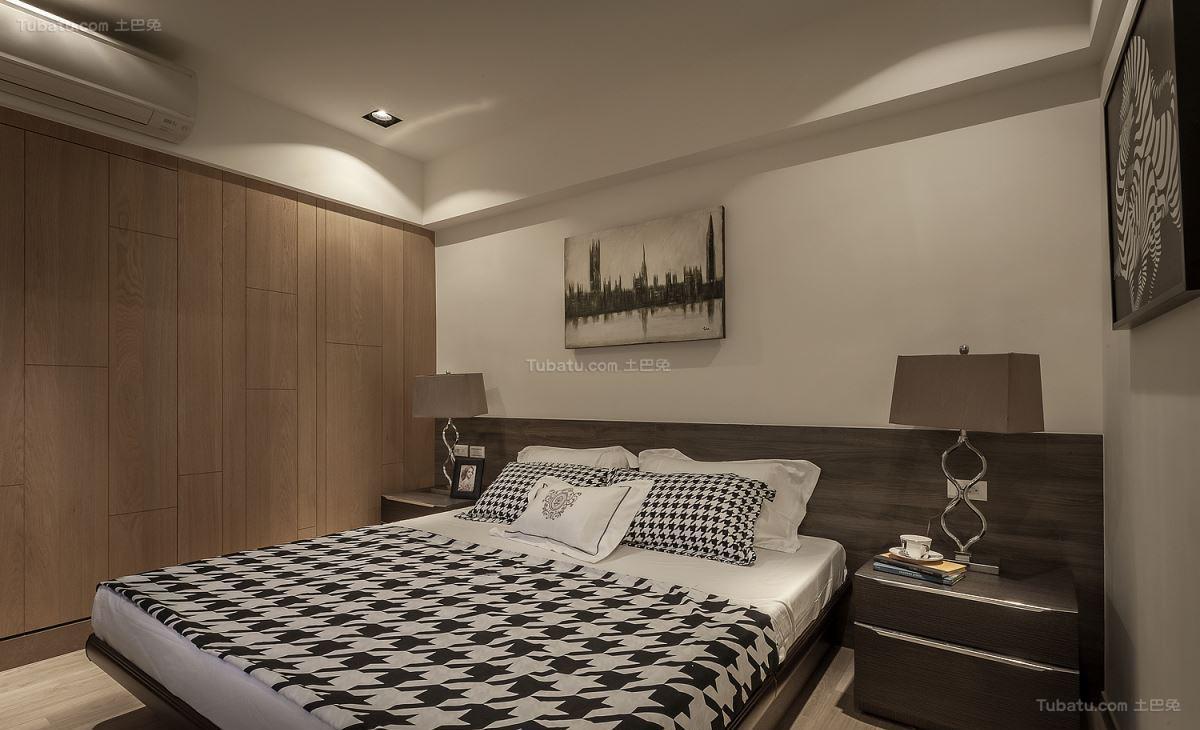 情调雅致现代风格卧室装修效果图