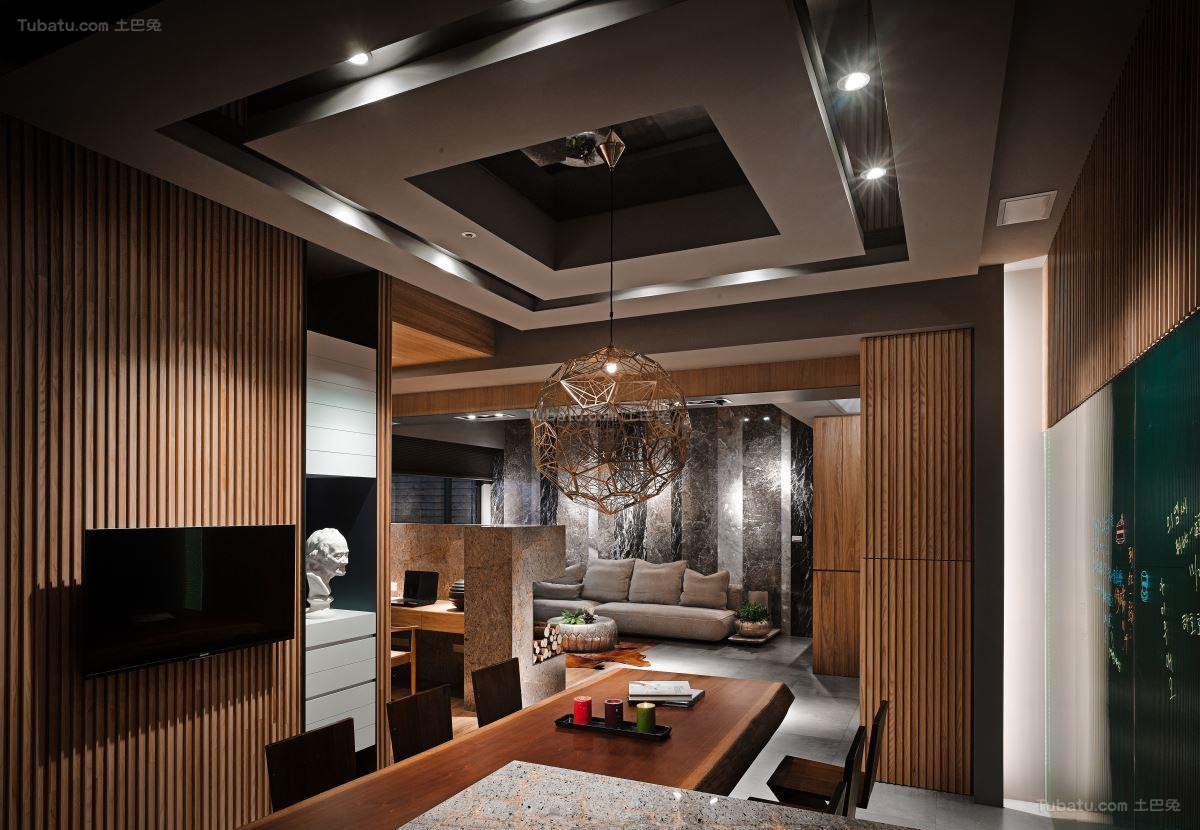 日式禅意静态美二居室图