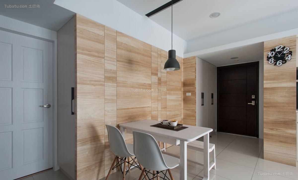 舒适清新休闲现代风格餐厅装修效果图