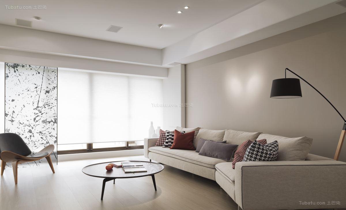 创意时尚北欧风格客厅装修效果图