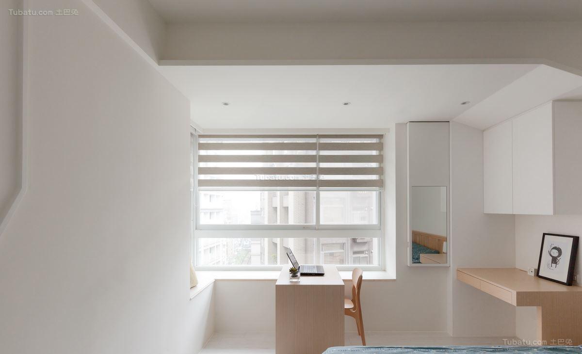 现代清新都市风窗户装修效果图
