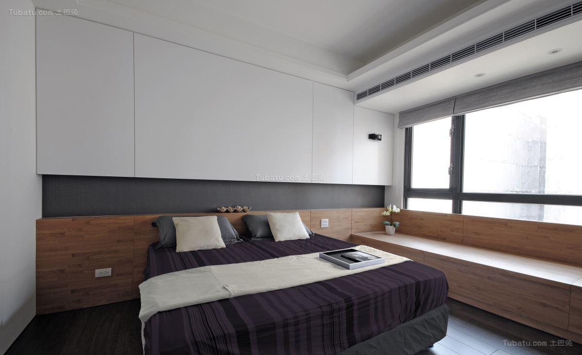 现代气质华美卧室装修效果图
