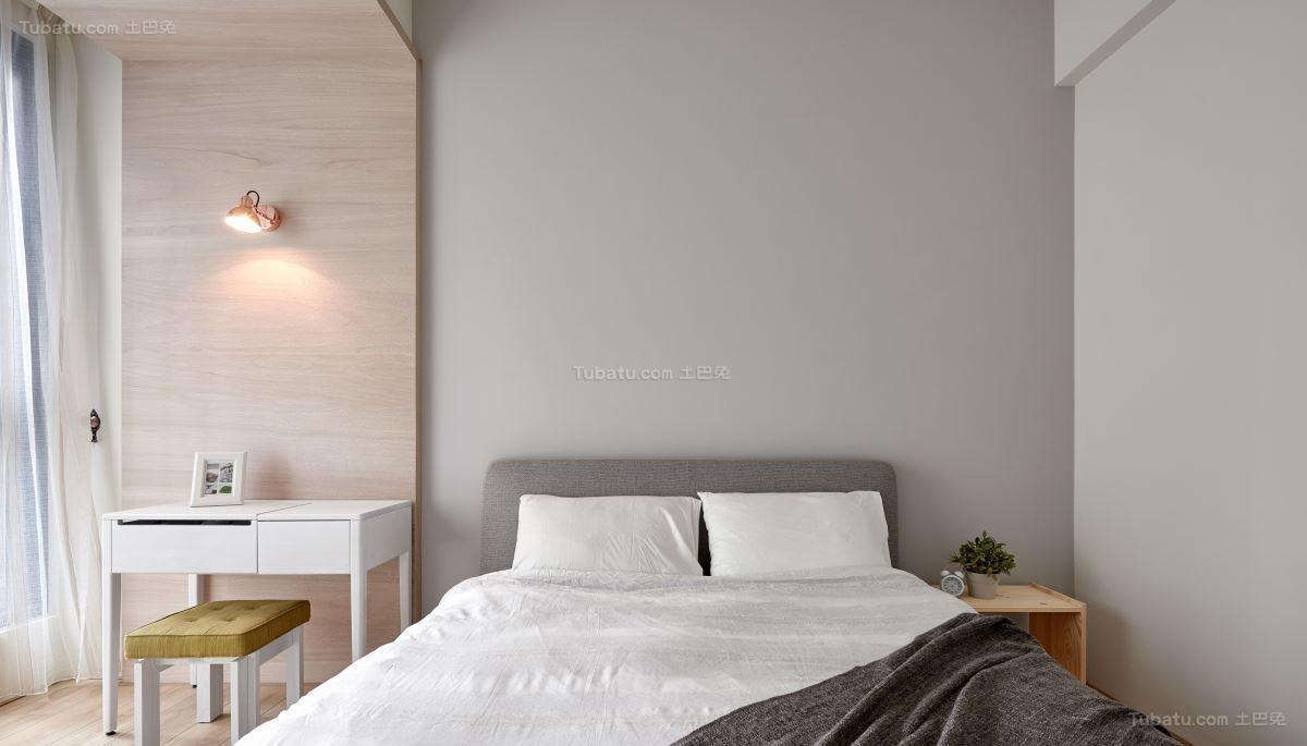 素雅休闲工业风卧室装修效果图