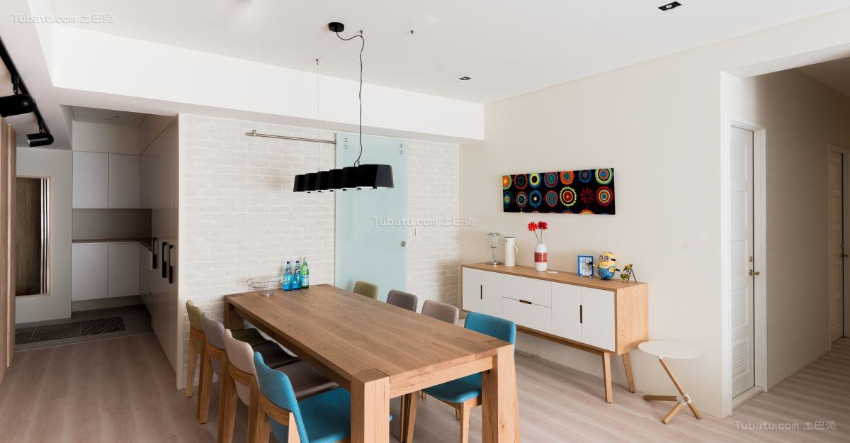休闲减压北欧风格餐厅装修效果图