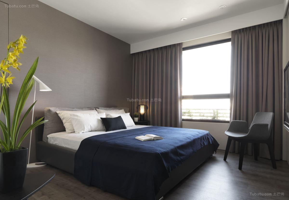 气质时尚现代风卧室装修效果图