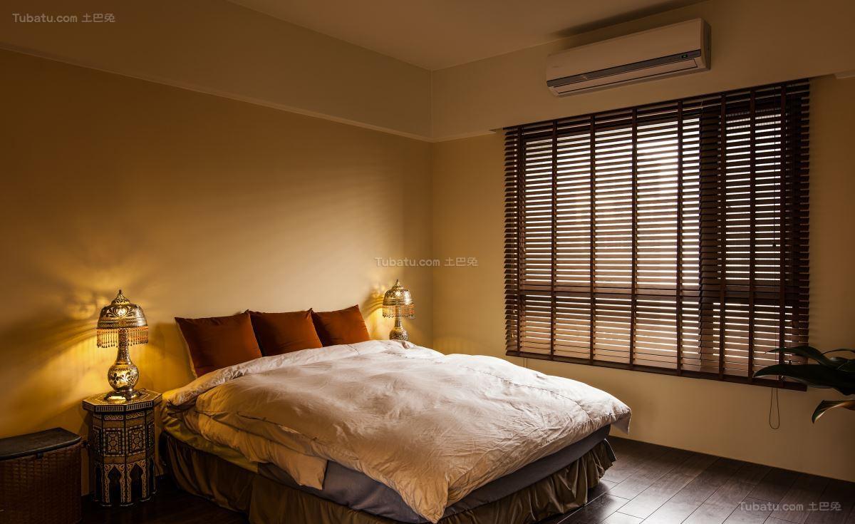 休闲别致中式风格卧室装修效果图