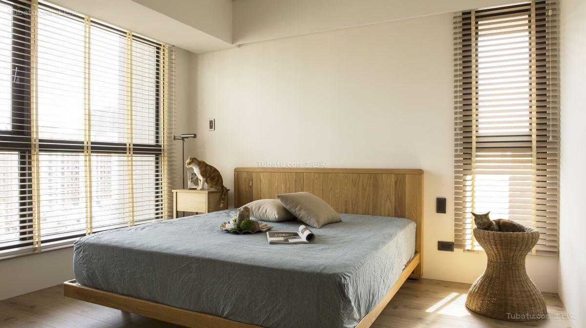 现代风别致性感卧室装修效果图