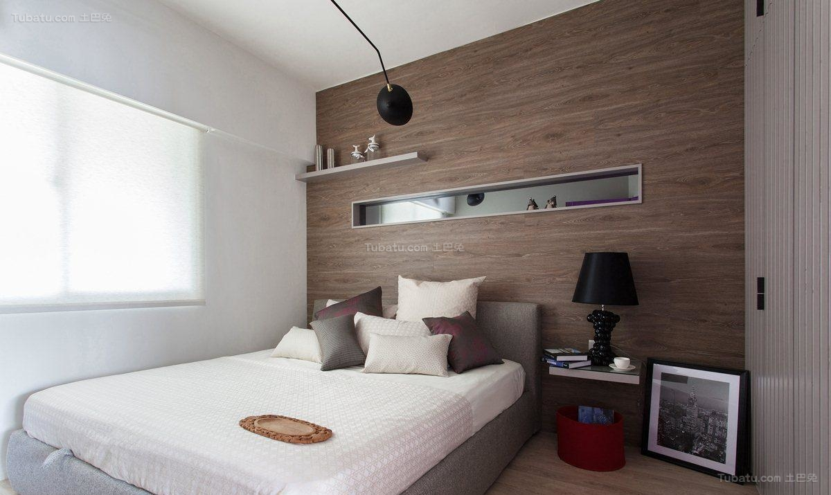 美式潮流个性卧室装修效果图