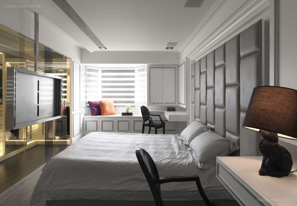 新古典精美舒适二居室装修效果图