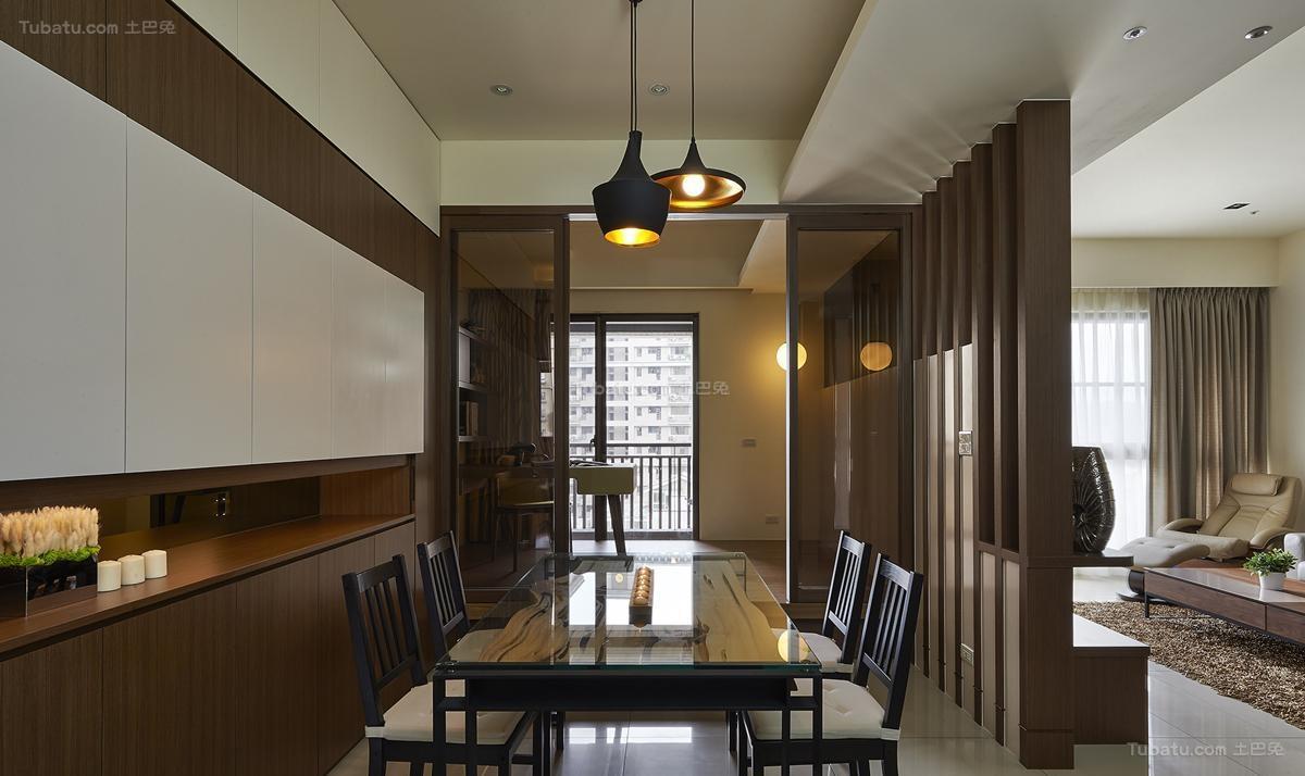 雅韵中式风格餐厅装修效果图