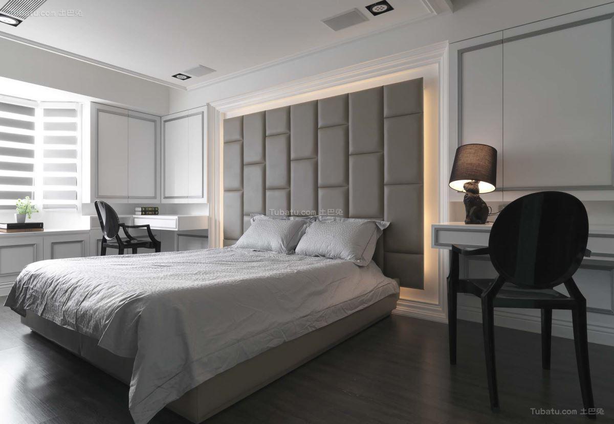 新古典精美舒适卧室装修效果图