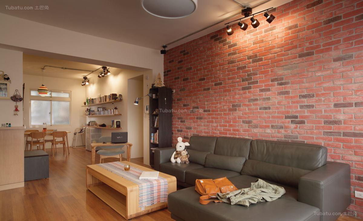 现代风温馨居家感一居室图