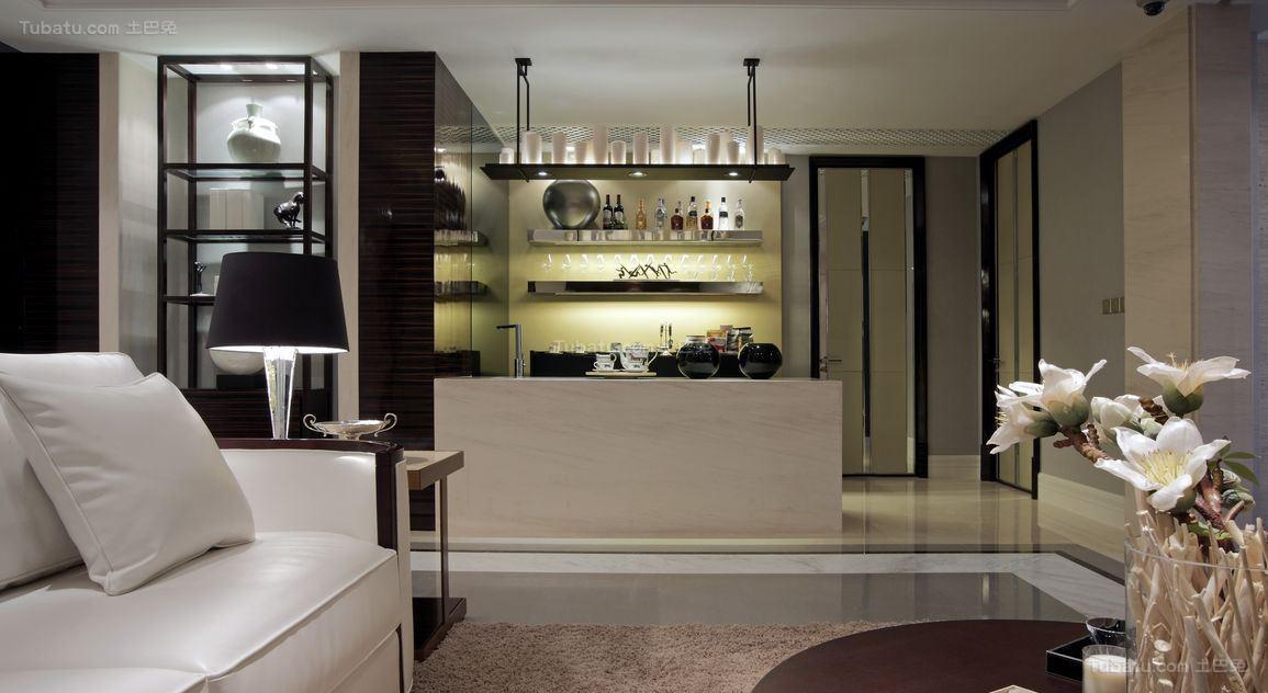 奢华品质现代化四居室装修效果图