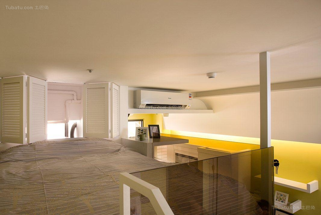 创意彩色现代风卧室装修效果图