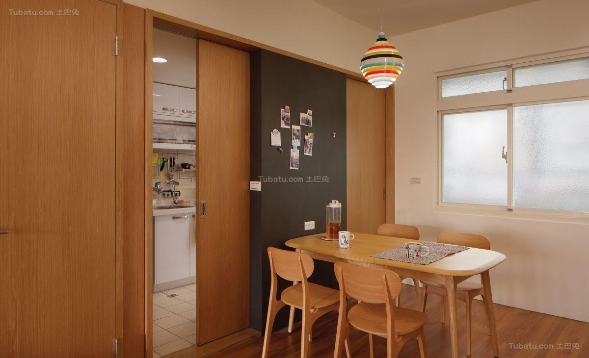 现代风温馨居家感厨房图