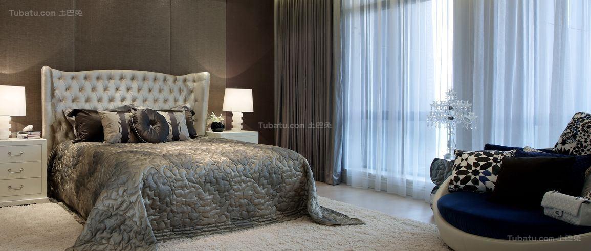 奢华品质现代化卧室装修效果图