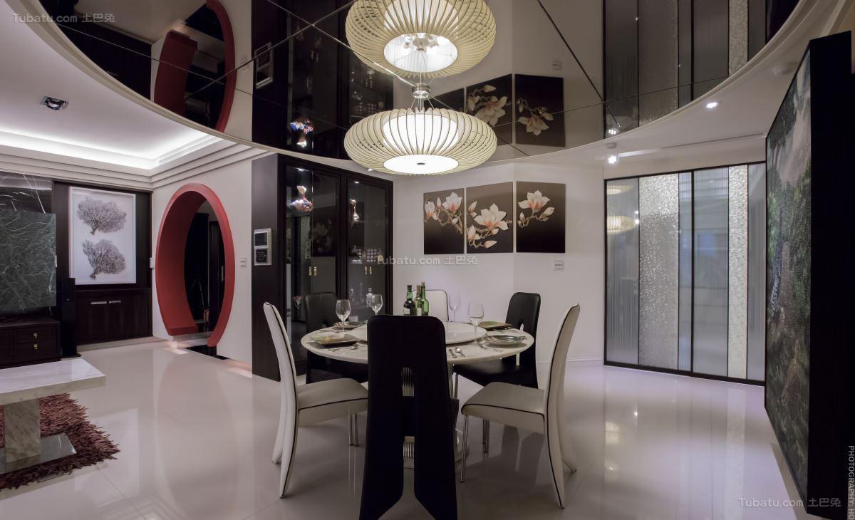 豪华大气现代化餐厅装修效果图