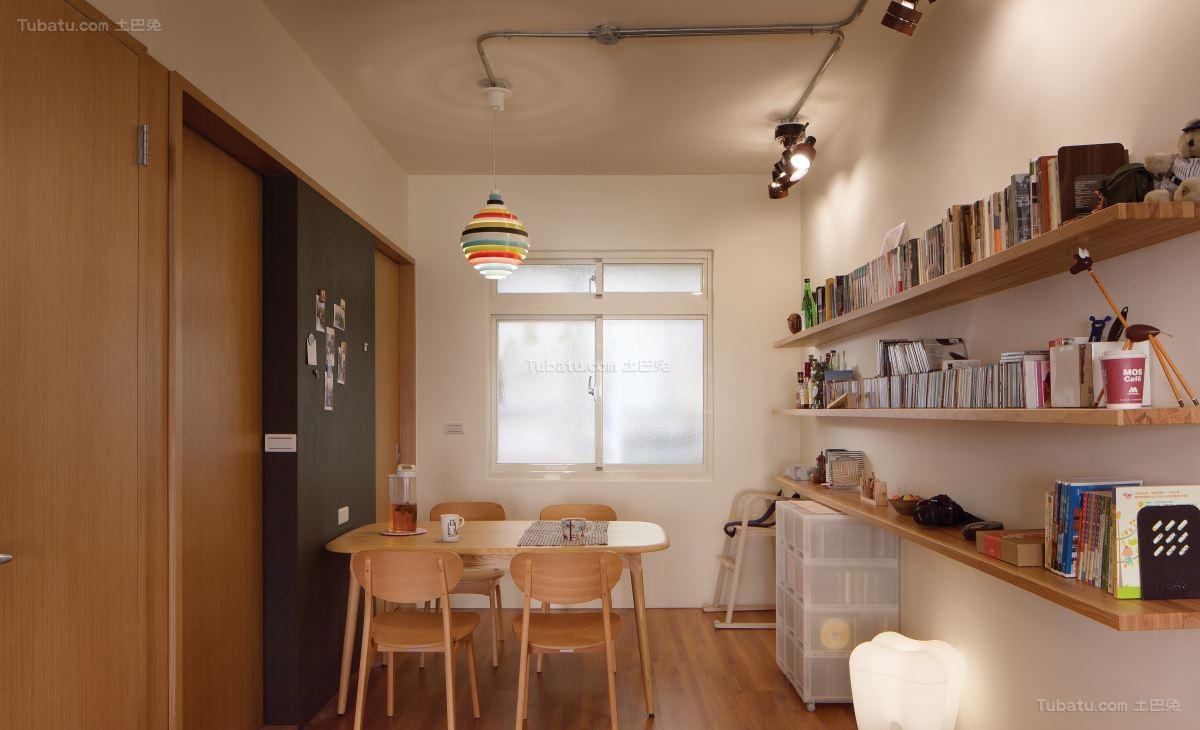 现代风温馨居家感餐厅图