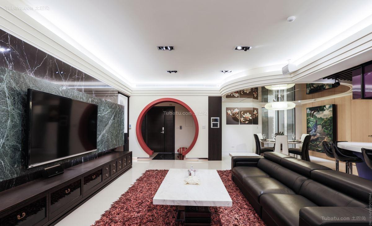 豪华大气现代化客厅装修效果图