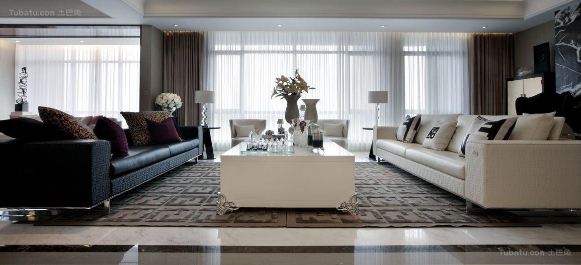 奢华品质现代化客厅装修效果图