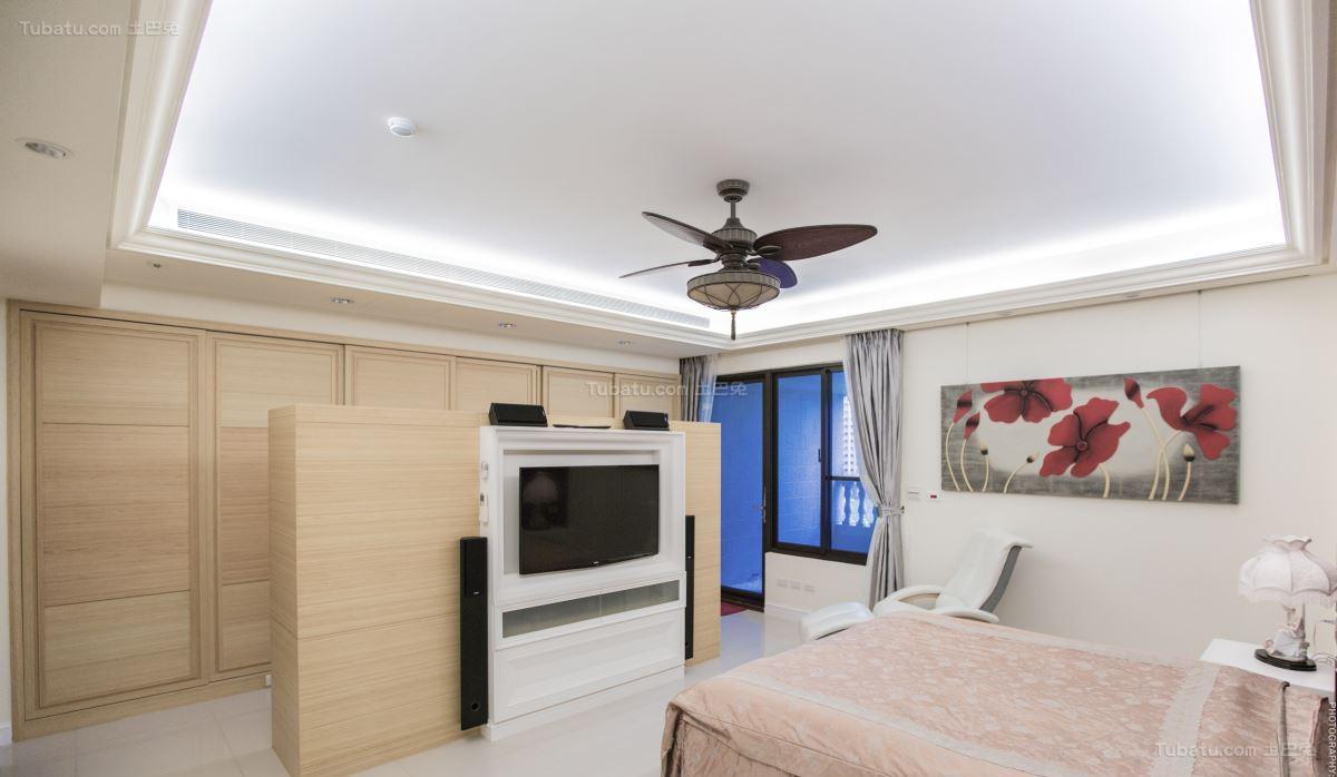 豪华大气现代化卧室装修效果图