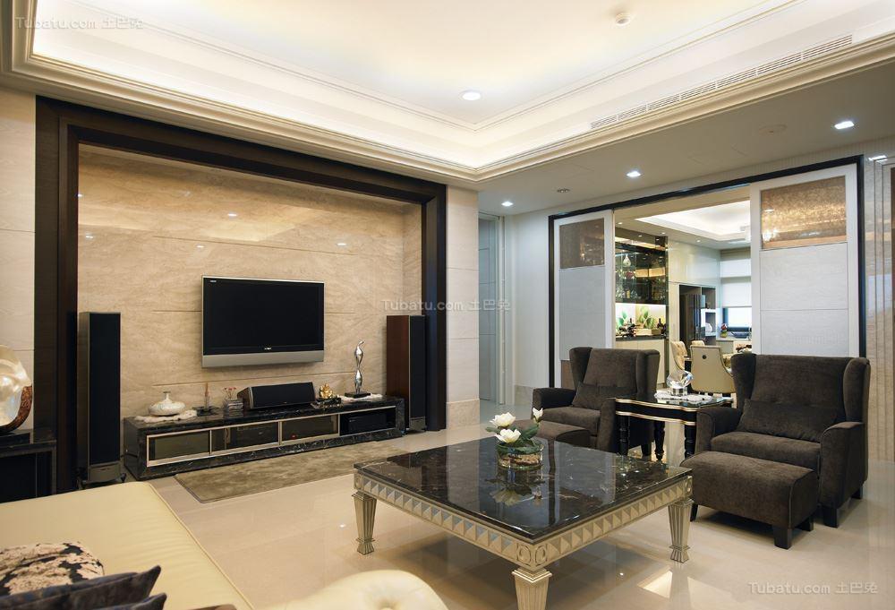 新古典风格雅致感二居室图片