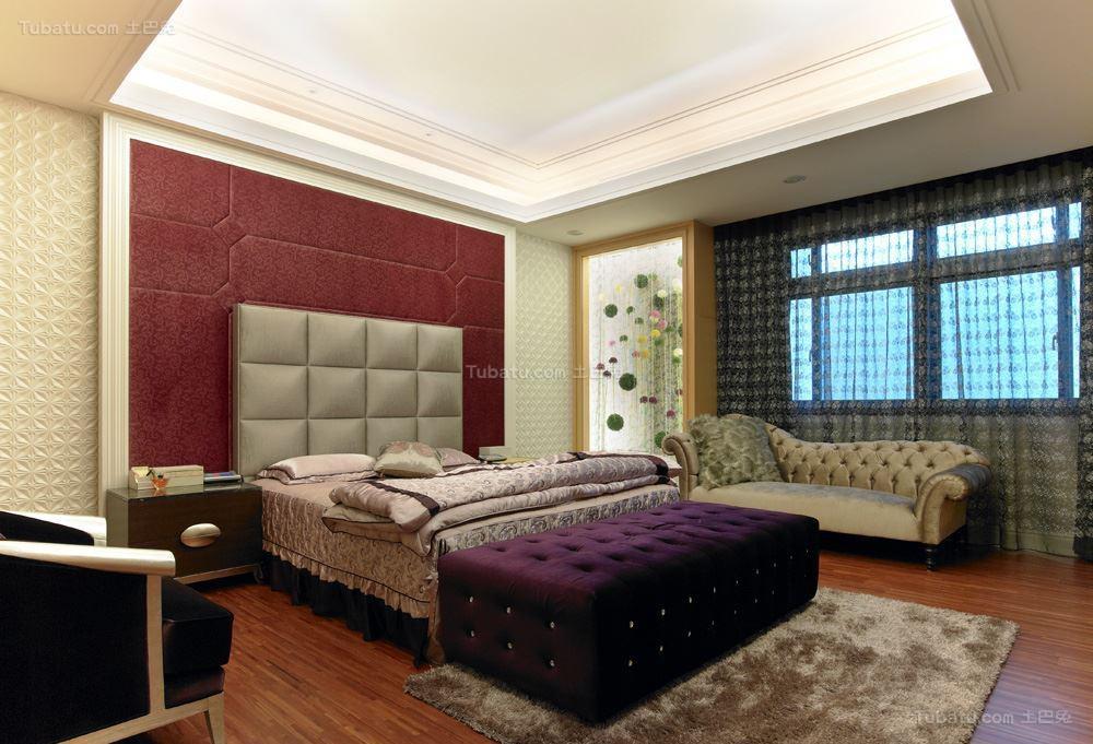 新古典风格雅致感卧室图片