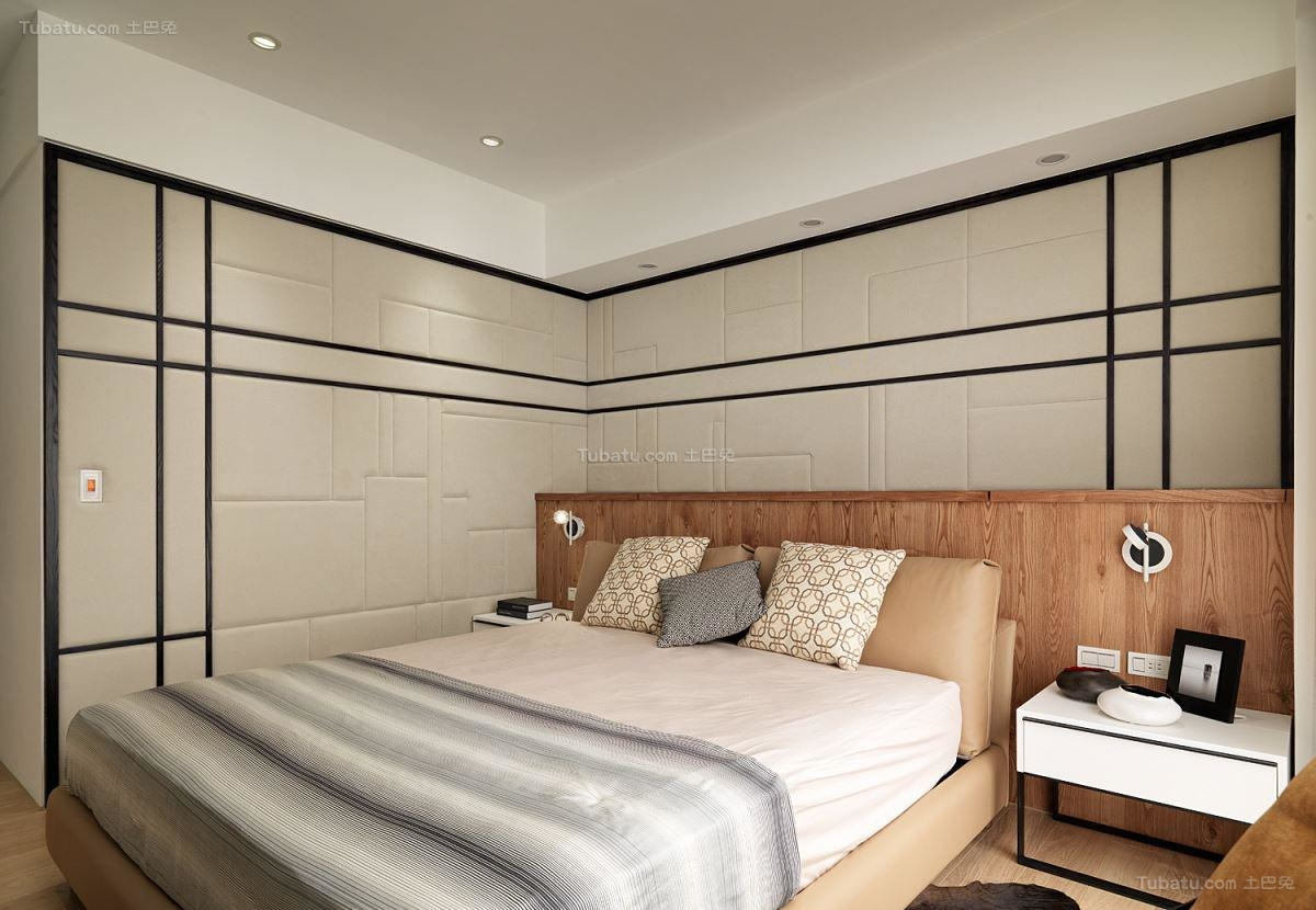 优雅纯净北欧风格卧室装修效果图