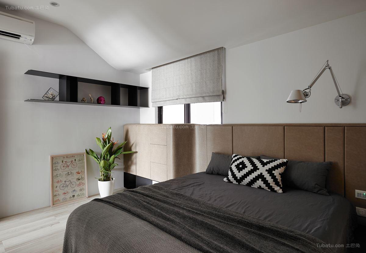 创意时尚现代化卧室装修效果图
