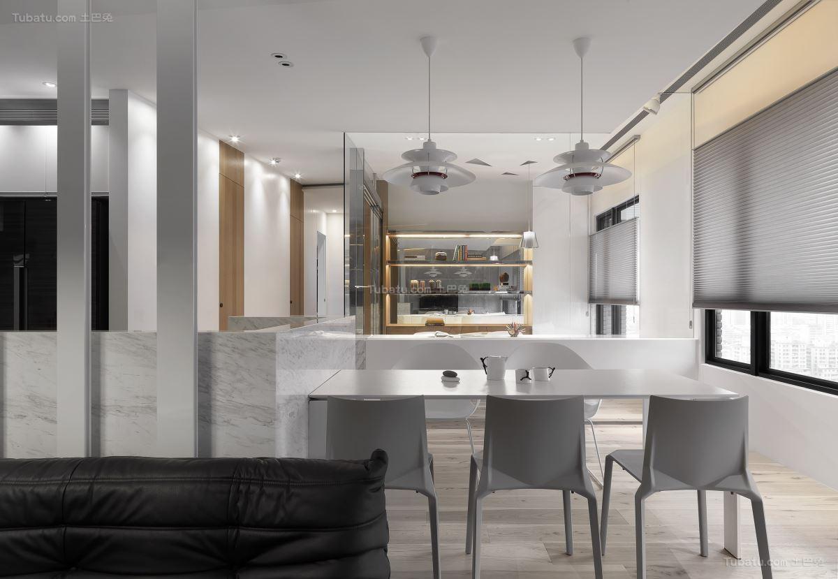 创意现代风格餐厅装修效果图