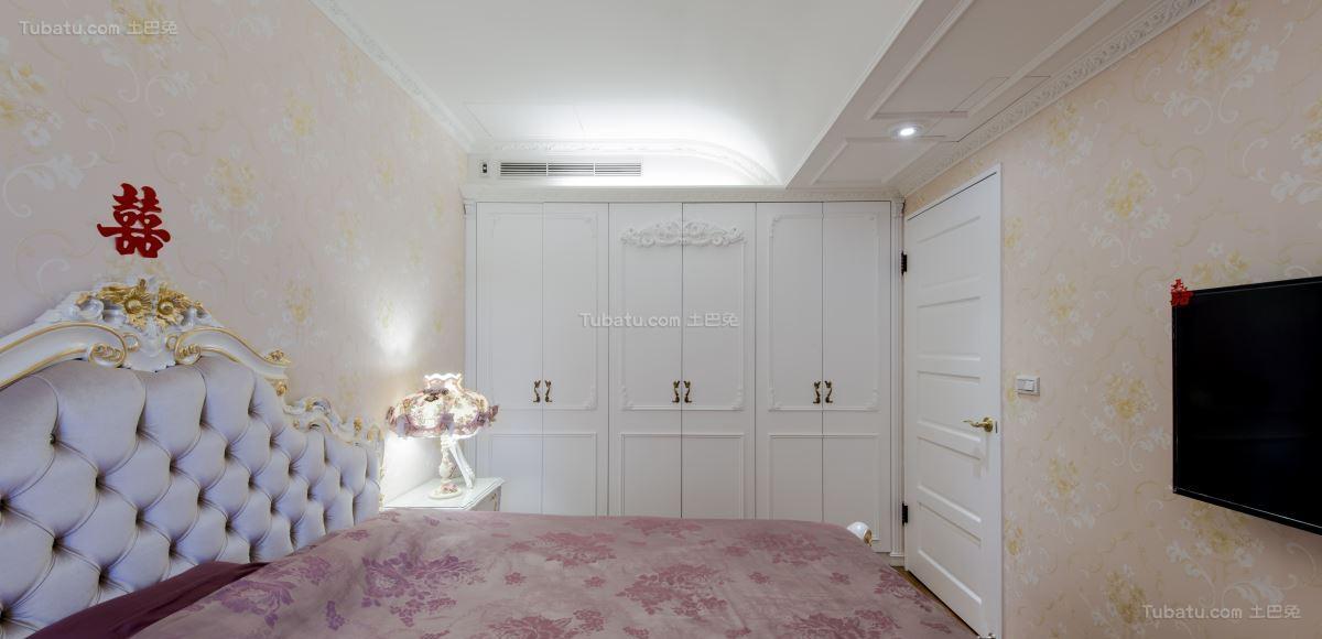 欧式新古典轻奢主义卧室图