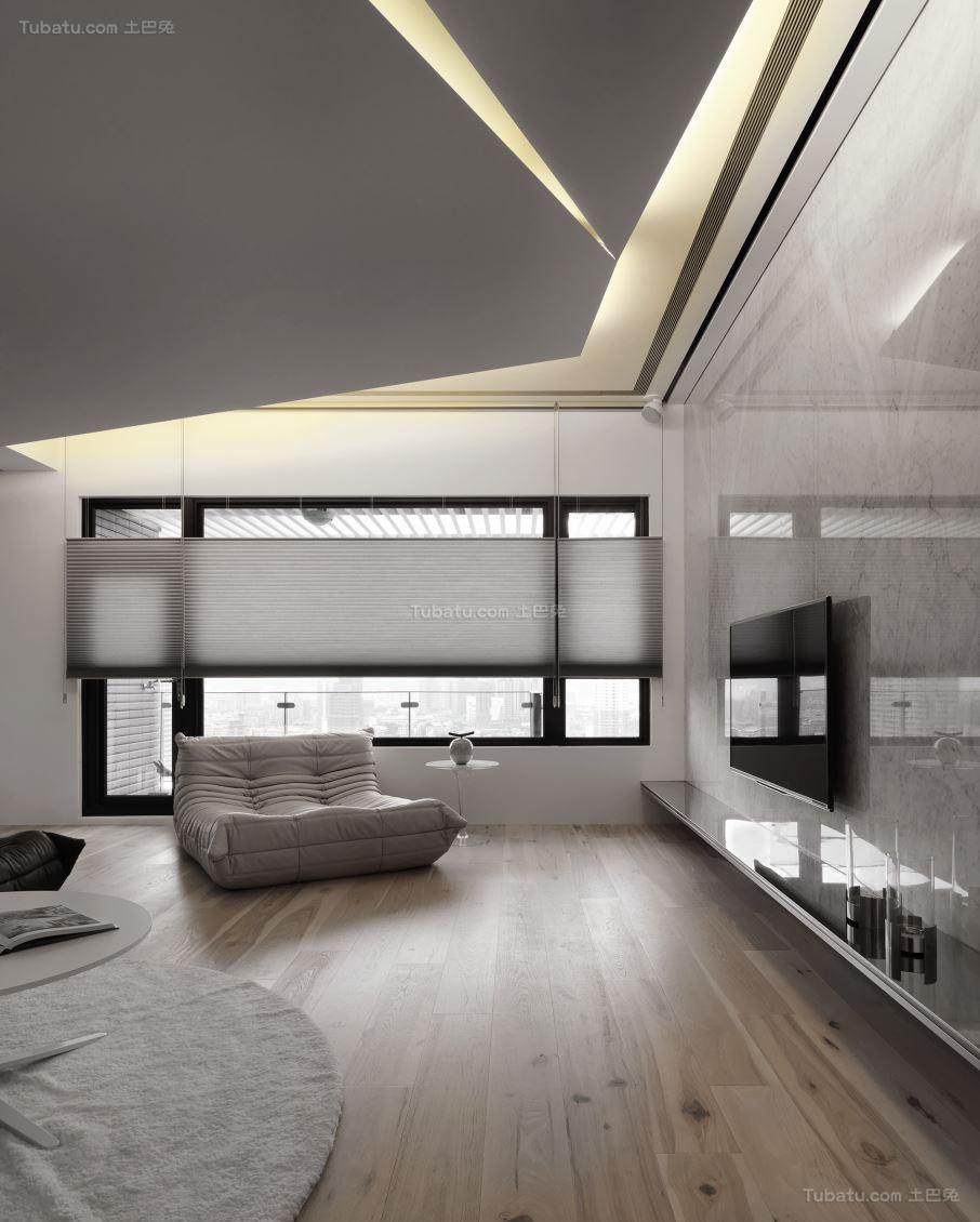 创意现代风格吊顶装修效果图